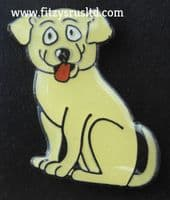 Dog Labrador Enamel Lapel Pin Badge Animal Brooch - New